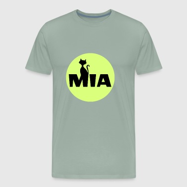 Mia first name cat - Men's Premium T-Shirt