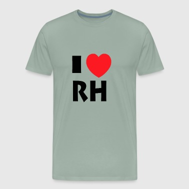 I Love Rhode Island - Men's Premium T-Shirt