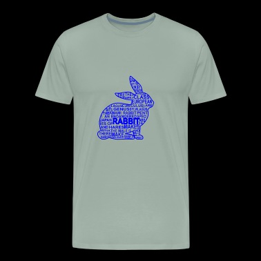 GIFT - RABBIT BLUE - Men's Premium T-Shirt