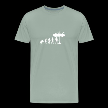 Evolution Of Man and Mechanic Funny Shirt - Men's Premium T-Shirt
