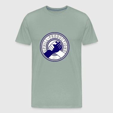 Uphill Productions Logo Design - Men's Premium T-Shirt