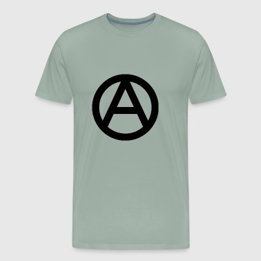 Anarchy means freedom - Men's Premium T-Shirt