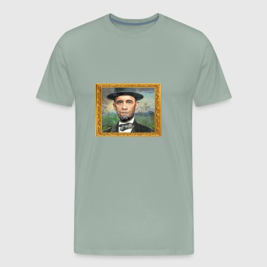 Obama- Lincoln - Men's Premium T-Shirt