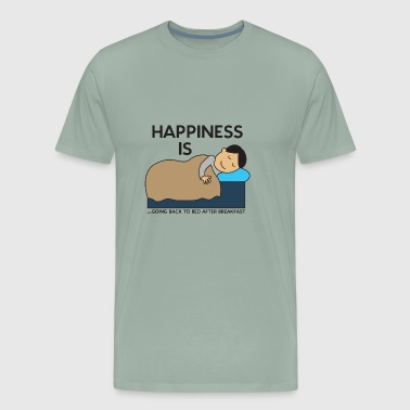 Schlafen Happyend Weekend - Men's Premium T-Shirt