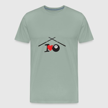 Liebe Billiard Liebe - Men's Premium T-Shirt