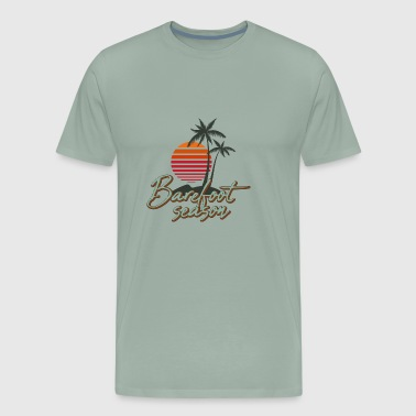 Barefoot season - Men's Premium T-Shirt