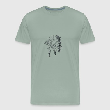 Tribal Shirt Tattoo - Men's Premium T-Shirt