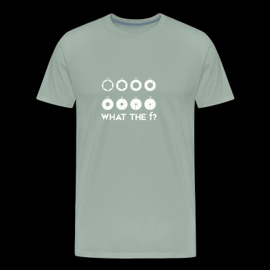 What the F Camera Lens Photography T-shirt - Men's Premium T-Shirt