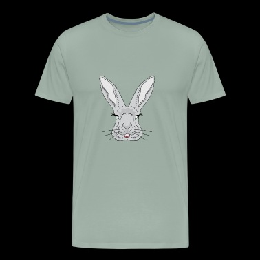 Animal Hipster - Rabbit - Men's Premium T-Shirt