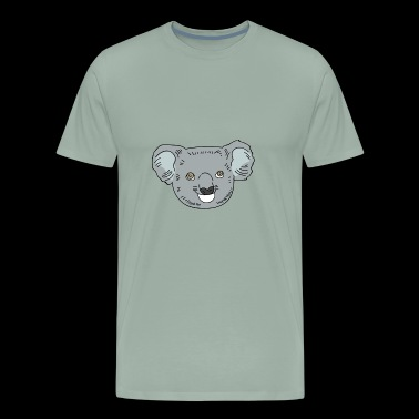 Animal Hipster -Koala - Men's Premium T-Shirt