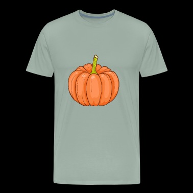 Pumpkin - Men's Premium T-Shirt