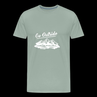 Go Outside the Great outdoors - Men's Premium T-Shirt