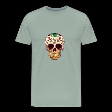 sugar Skull, cinco de mayo, day of the dead, - Men's Premium T-Shirt