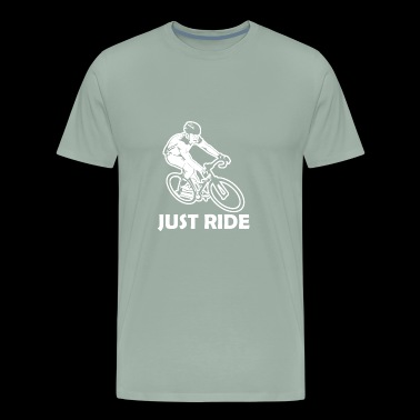 Just Ride Road bike - Men's Premium T-Shirt