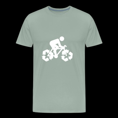 Save Environment Bike - Men's Premium T-Shirt