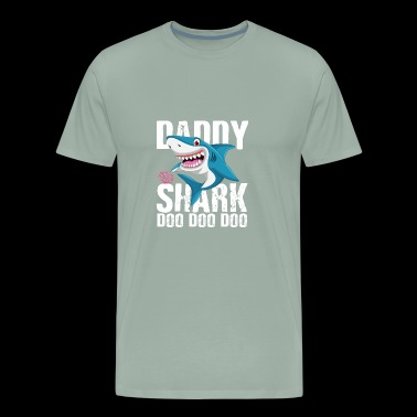 Daddy Shark Father's day - Men's Premium T-Shirt