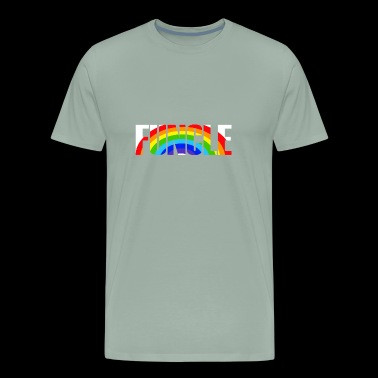 Cool Funcle Rainbow - Men's Premium T-Shirt