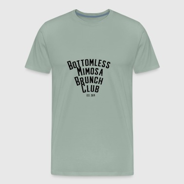 Bottomless Mimosa Brunch Club - Men's Premium T-Shirt