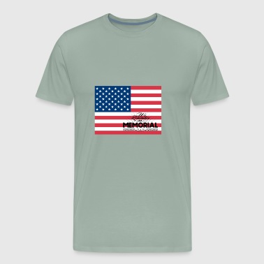 ~ Memorial Day: We remember on Memorial Day - Men's Premium T-Shirt