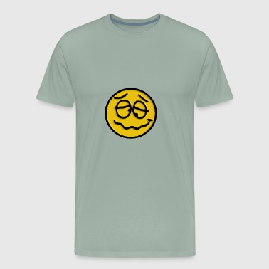 Crazy Smiley - Men's Premium T-Shirt