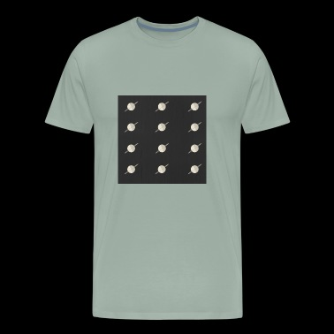 Planetary Pattern - Men's Premium T-Shirt
