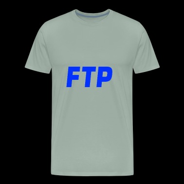FTP Blue - Men's Premium T-Shirt