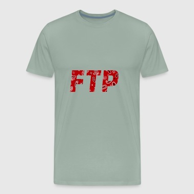 FTP Red Paisley - Men's Premium T-Shirt