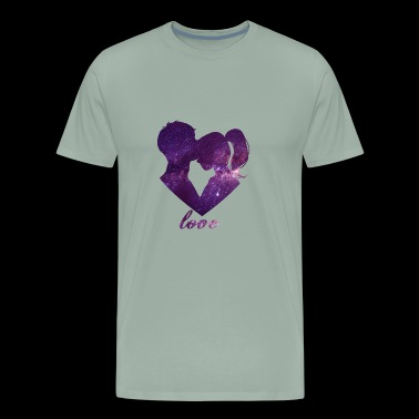 love pair - Men's Premium T-Shirt