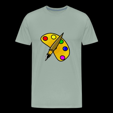 color palette - Men's Premium T-Shirt