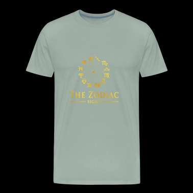 THE ZODIAC SIGNS - Men's Premium T-Shirt