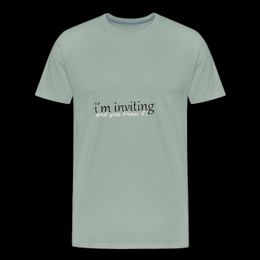 inviting - Men's Premium T-Shirt
