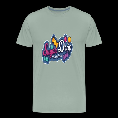 Candy Sugar Drop - Men's Premium T-Shirt