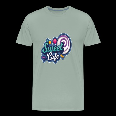 Candy Sweet Cafe - Men's Premium T-Shirt