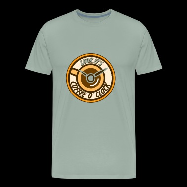 Look its coffee o clock - Men's Premium T-Shirt