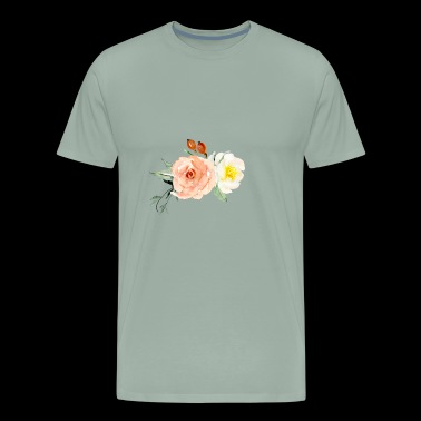 Flower Design - Men's Premium T-Shirt