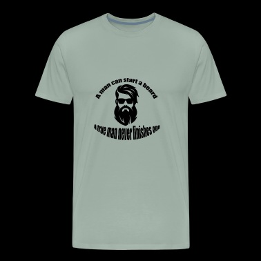 beard man - Men's Premium T-Shirt
