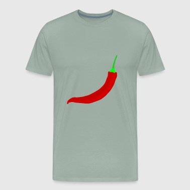 hot chili chilli peppers - Men's Premium T-Shirt