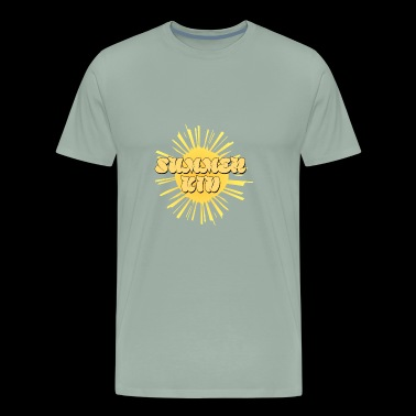 Summer kid , gift idea for summer season - Men's Premium T-Shirt