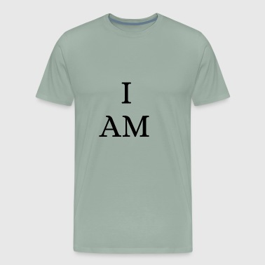 I AM - Affirmation For Personal Positivity - Men's Premium T-Shirt