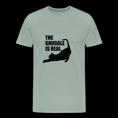 The Snuggle is Real - Men's Premium T-Shirt