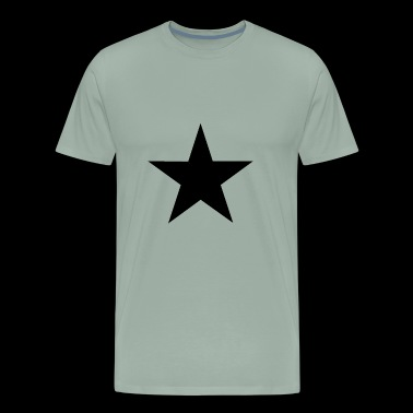 Tee shirt black star - Men's Premium T-Shirt