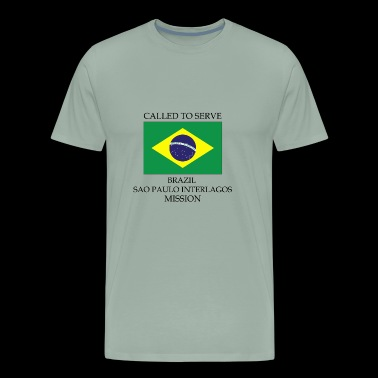 Brazil Sao Paulo Interlagos LDS Mission Called - Men's Premium T-Shirt