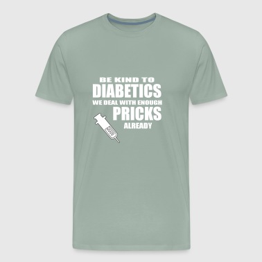 diabetics - Men's Premium T-Shirt