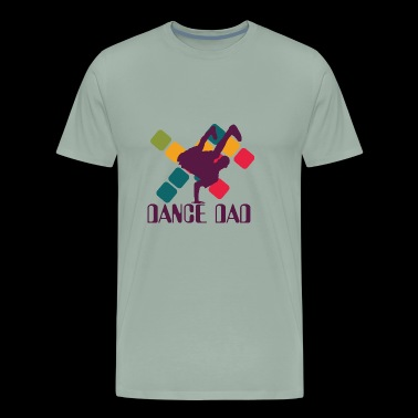 Hip-Hop Dance Dad - Men's Premium T-Shirt