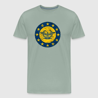 Roman Standard and the EU Flag - Men's Premium T-Shirt