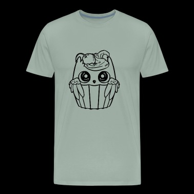 Lovely little owl - Men's Premium T-Shirt