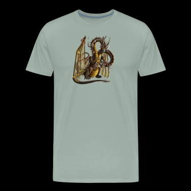 Determined Dragon - Men's Premium T-Shirt