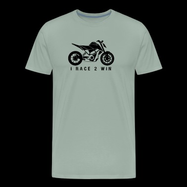 Super naked sports bike - Men's Premium T-Shirt