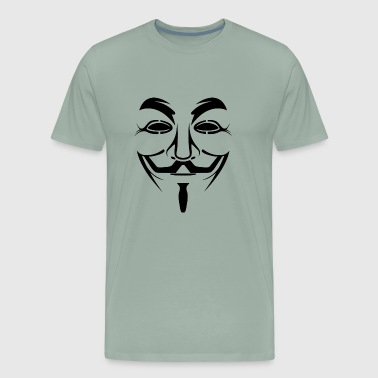 Guy Fawkes Anonymous - Men's Premium T-Shirt
