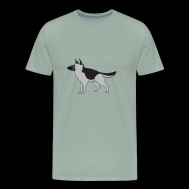 Dog 6 b - Men's Premium T-Shirt